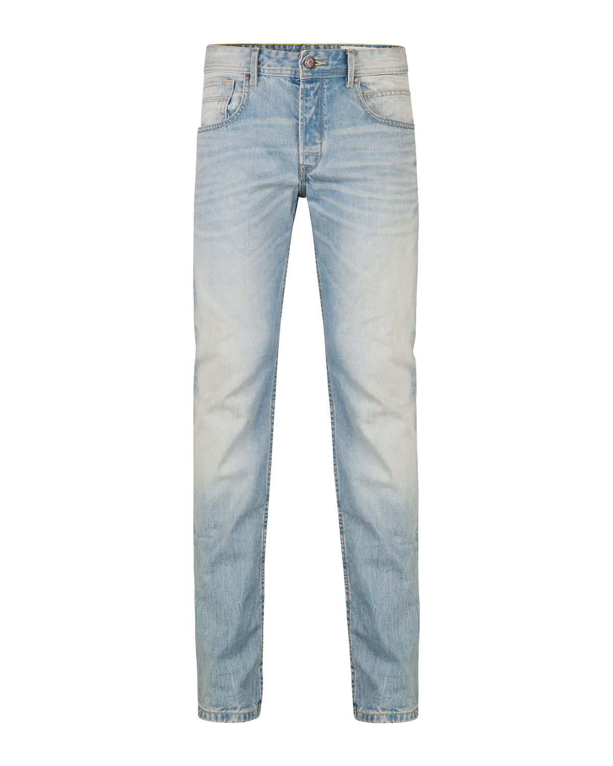 Heren regular straight jeans