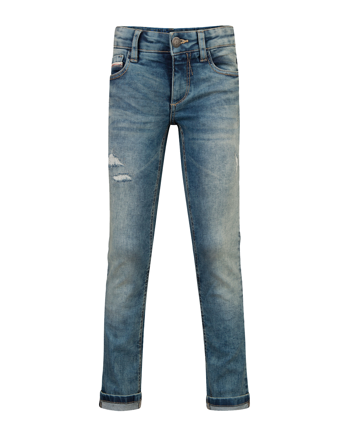Jongens skinny fit rip  and  repair jeans