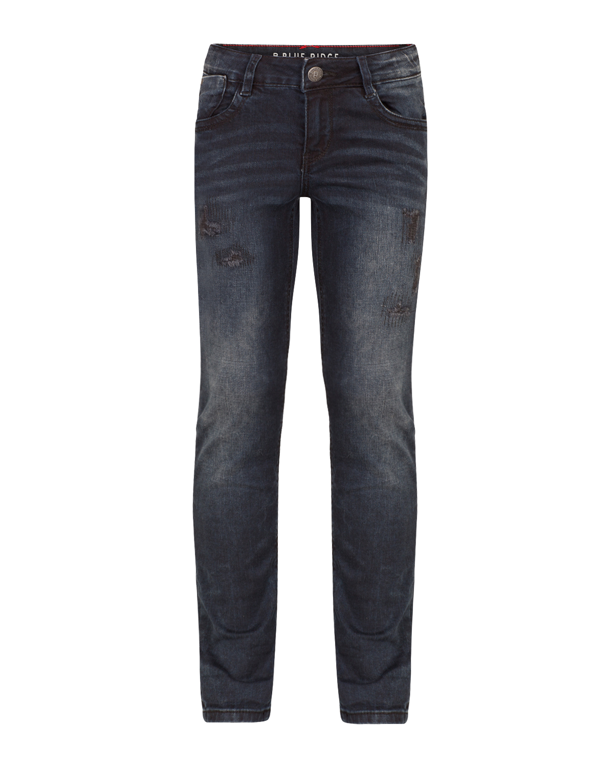 Meisjes skinny fit repair jeans