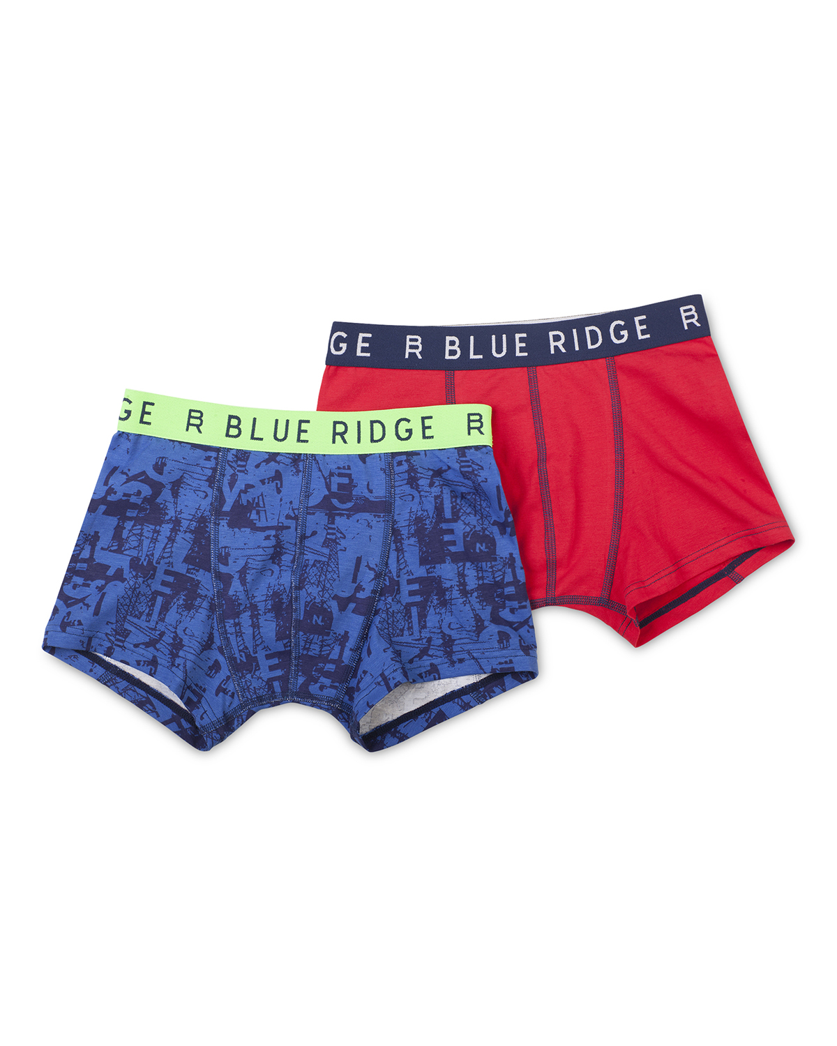 Jongens blue ridge boxers 2-pack