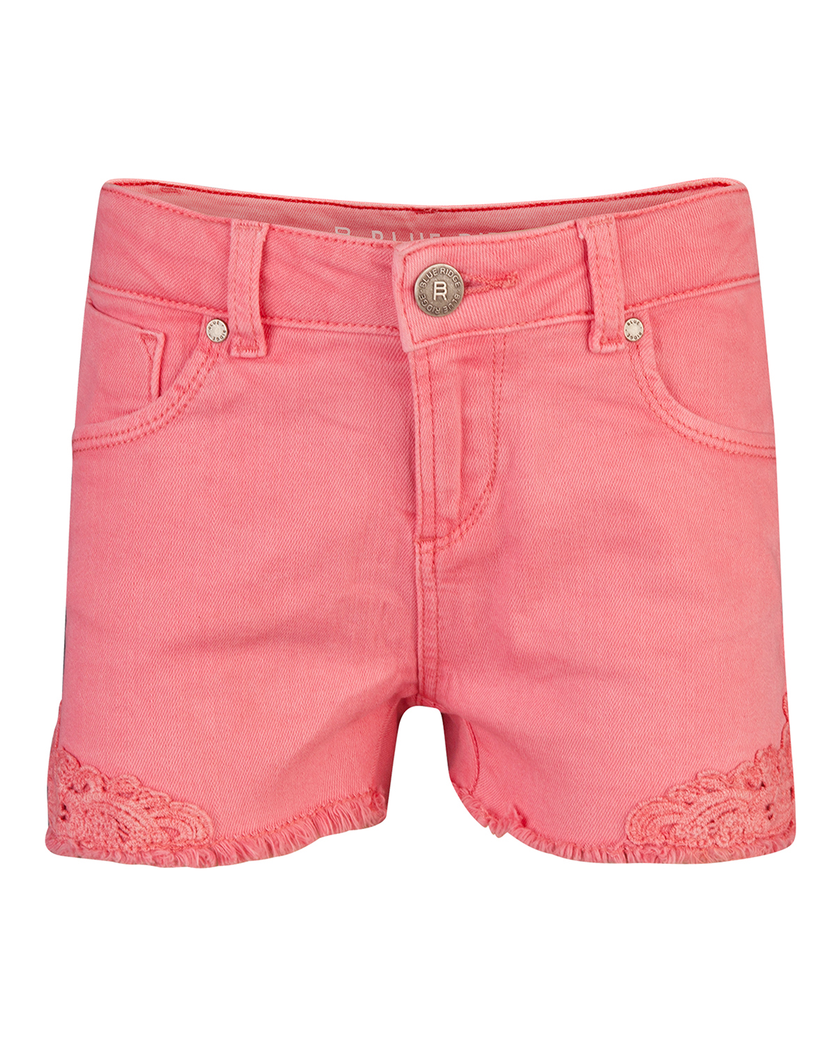 Meisjes regular fit lace short