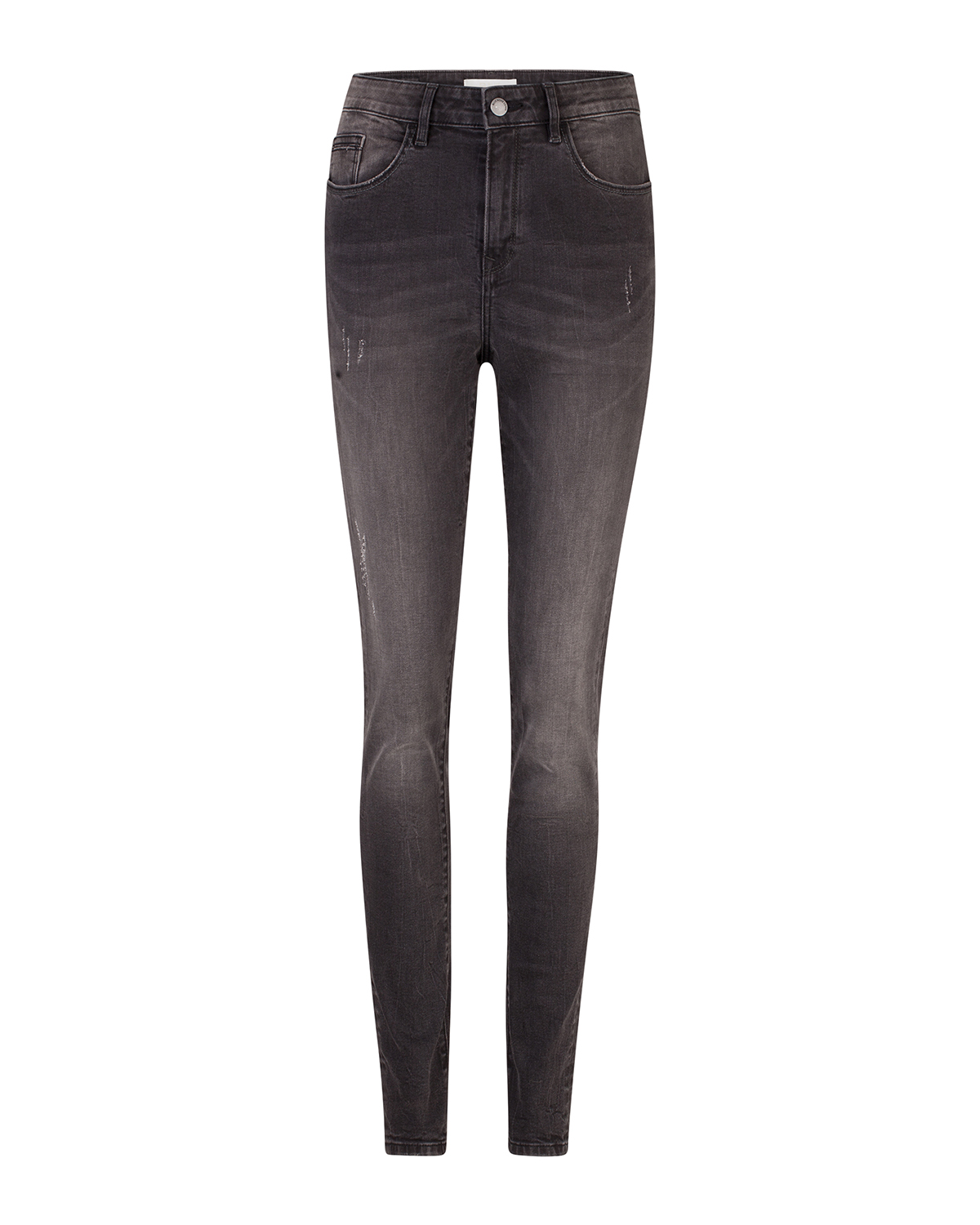 Dames high rise skinny high stretch jeans