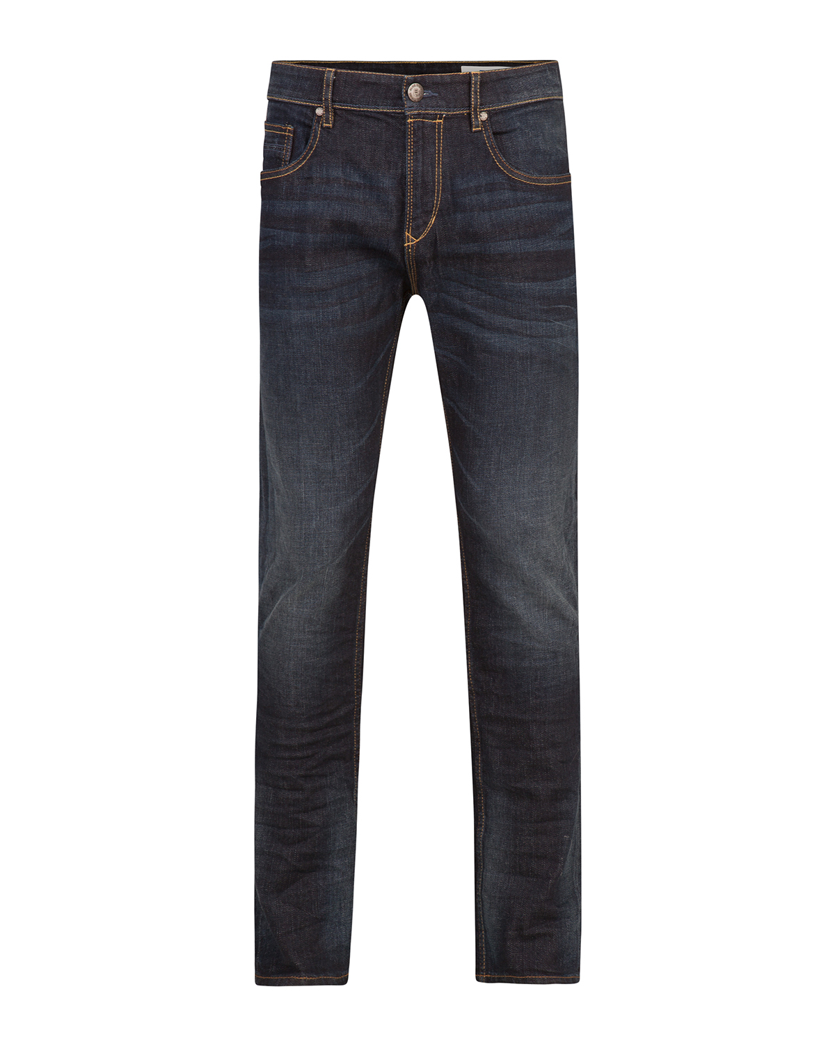 Heren relaxed tapered comfort stretch jeans