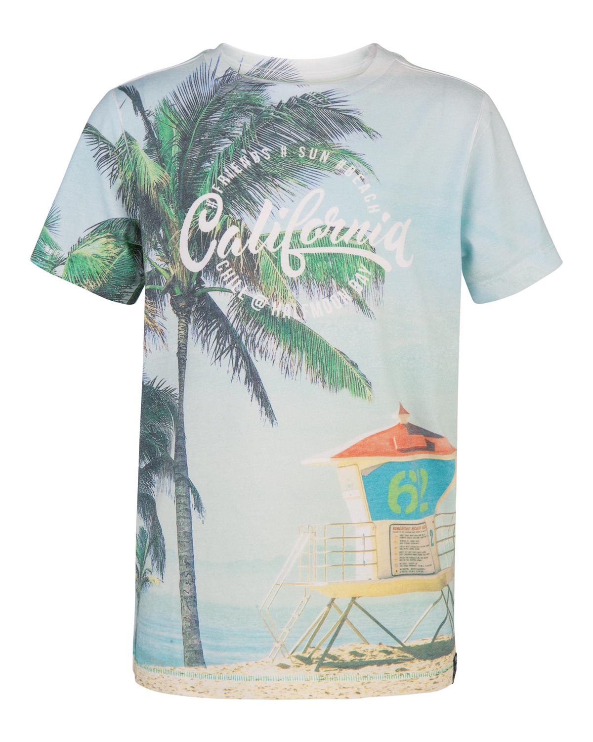 Jongens california print t-shirt