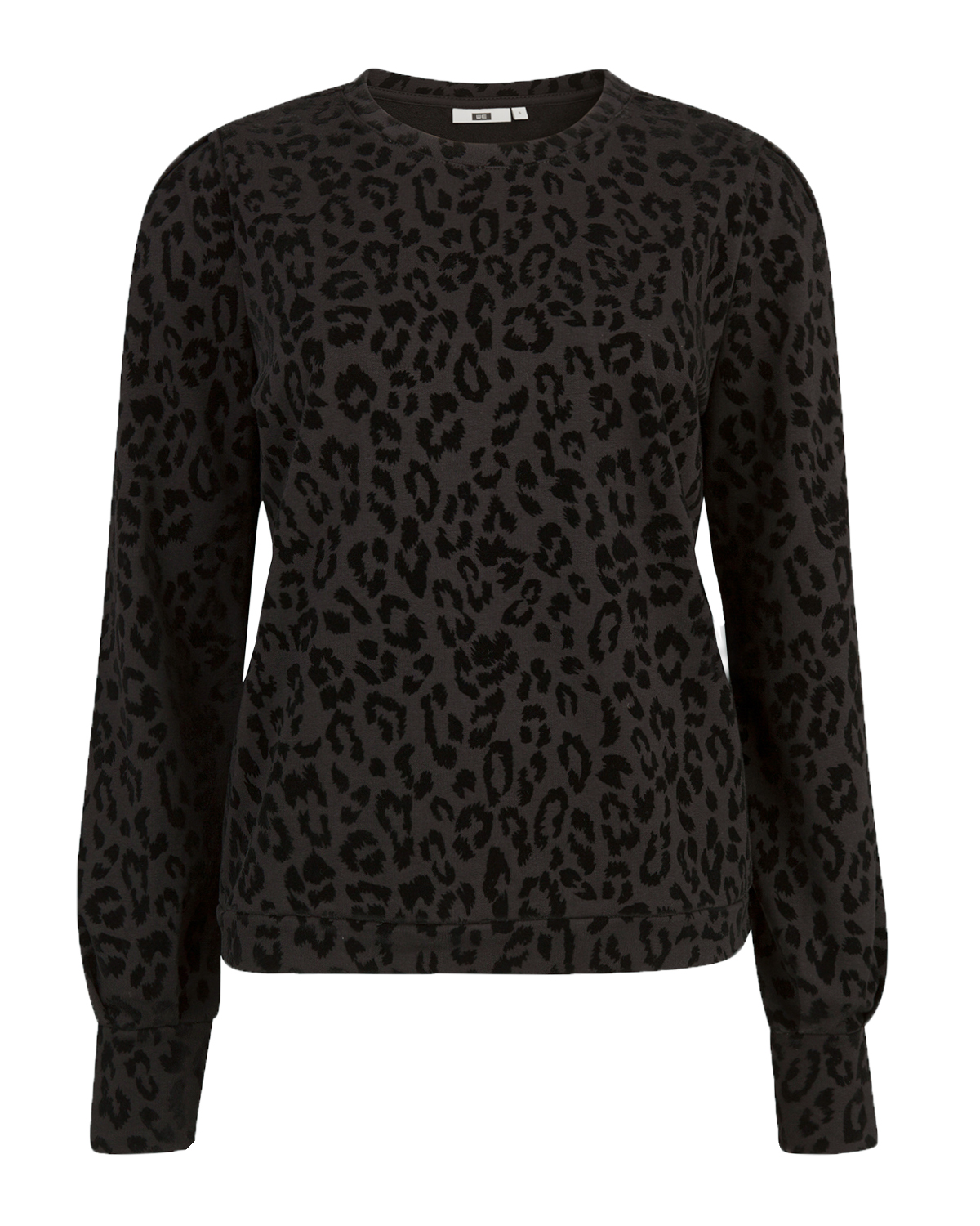 Dames leopard print sweater