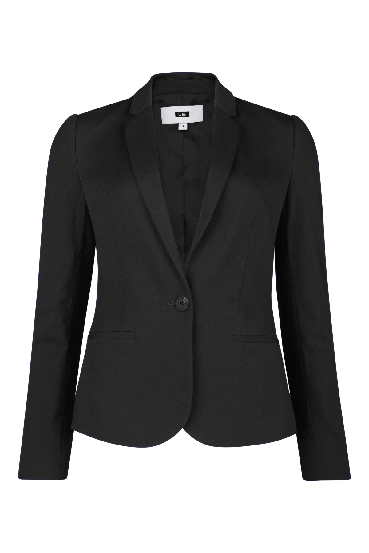 Dames jersey slim fit blazer