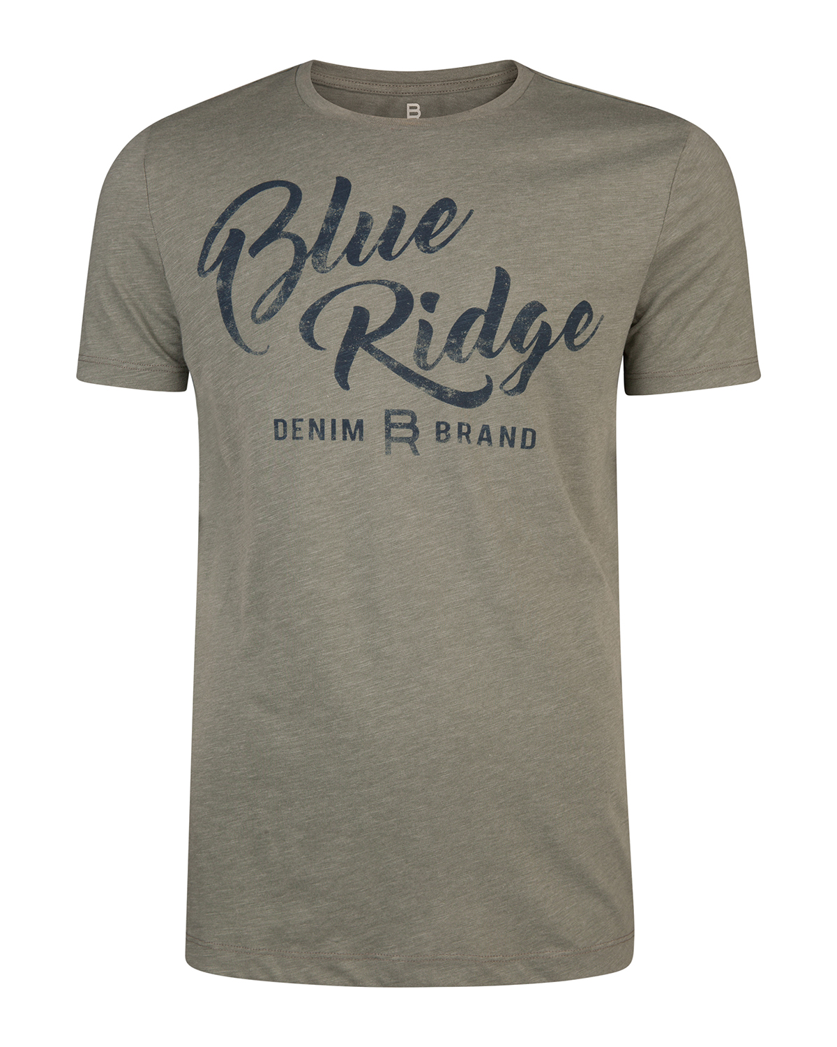 Heren blue ridge print t-shirt