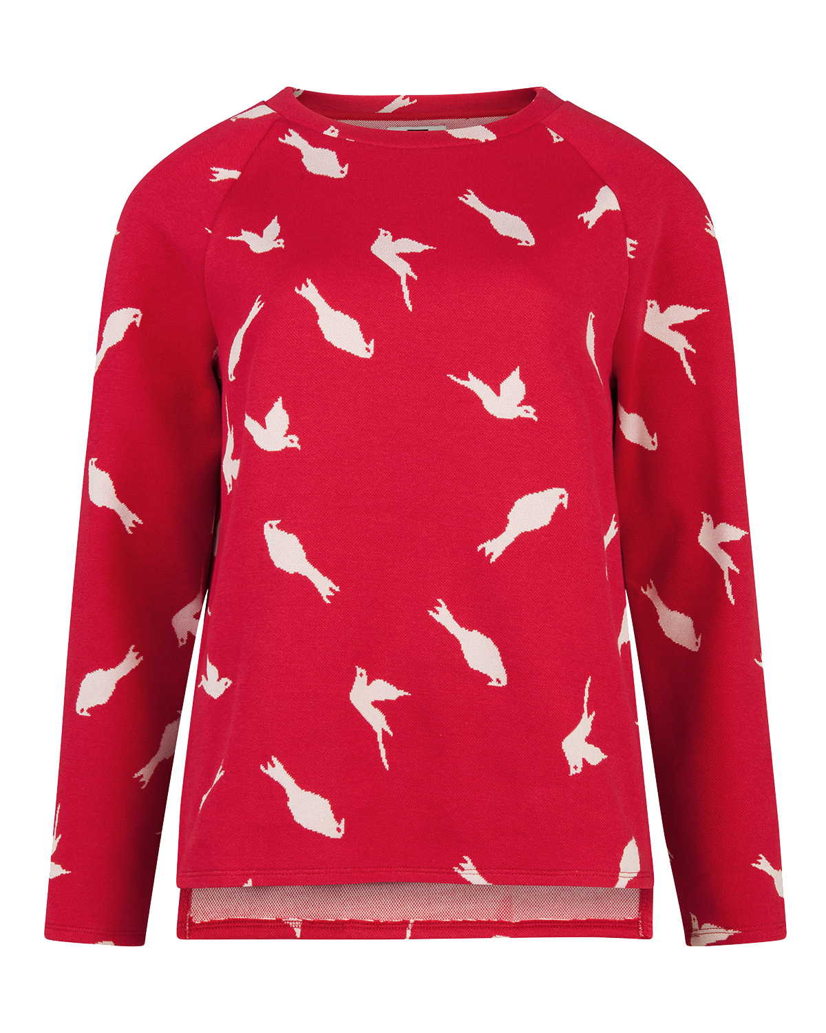 Dames bird print sweater
