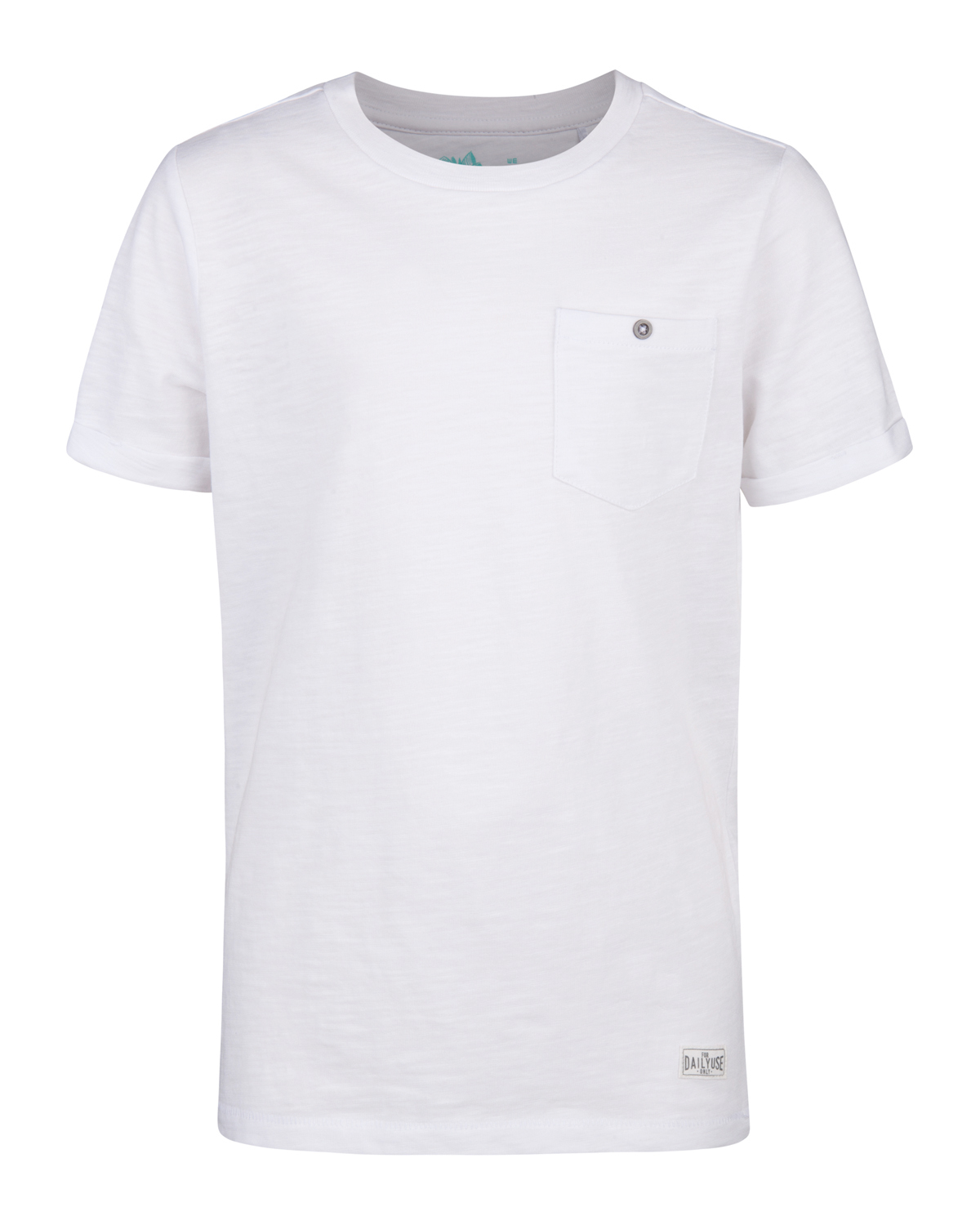Jongens one pocket r-neck t-shirt