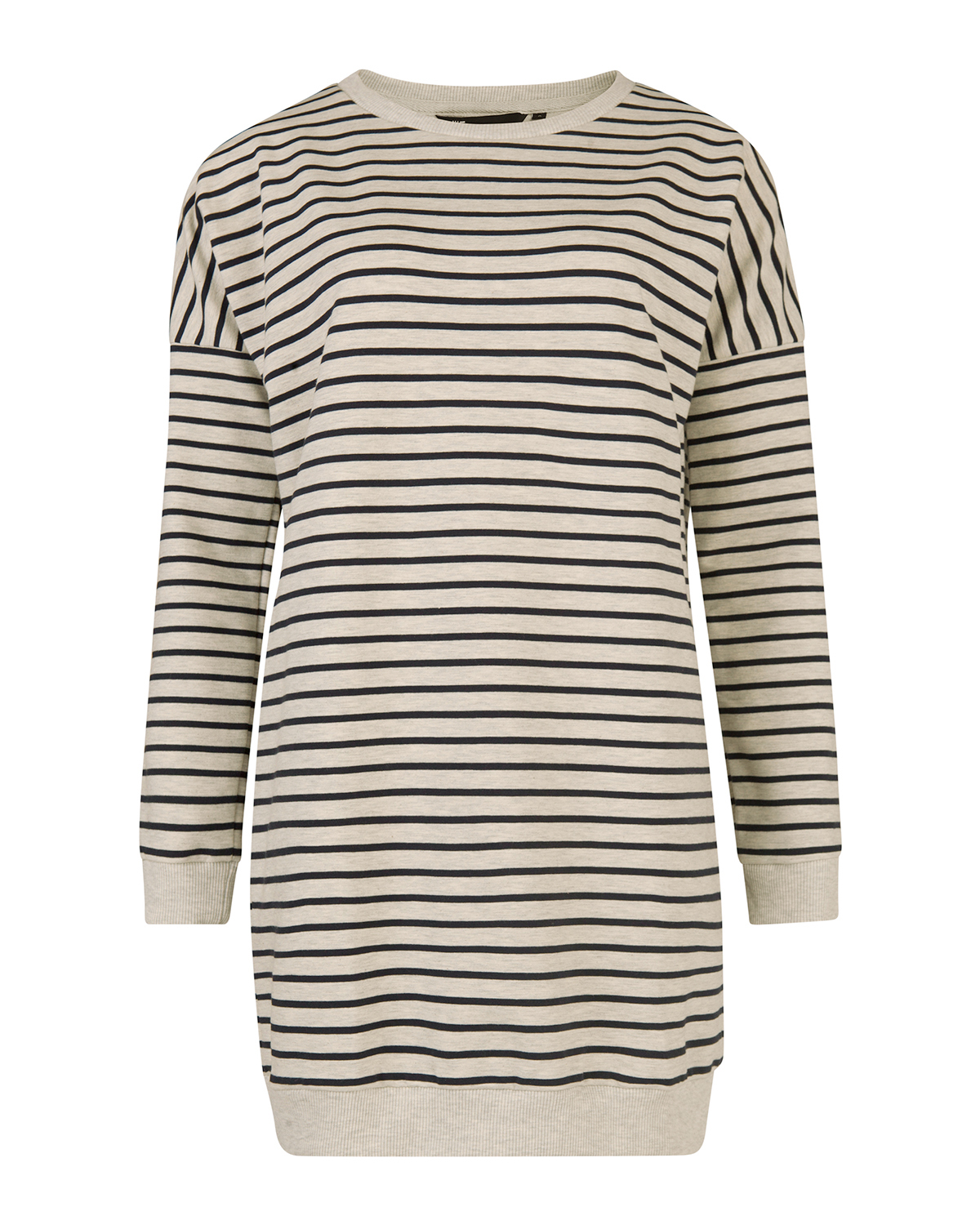 Dames stripe long sweater