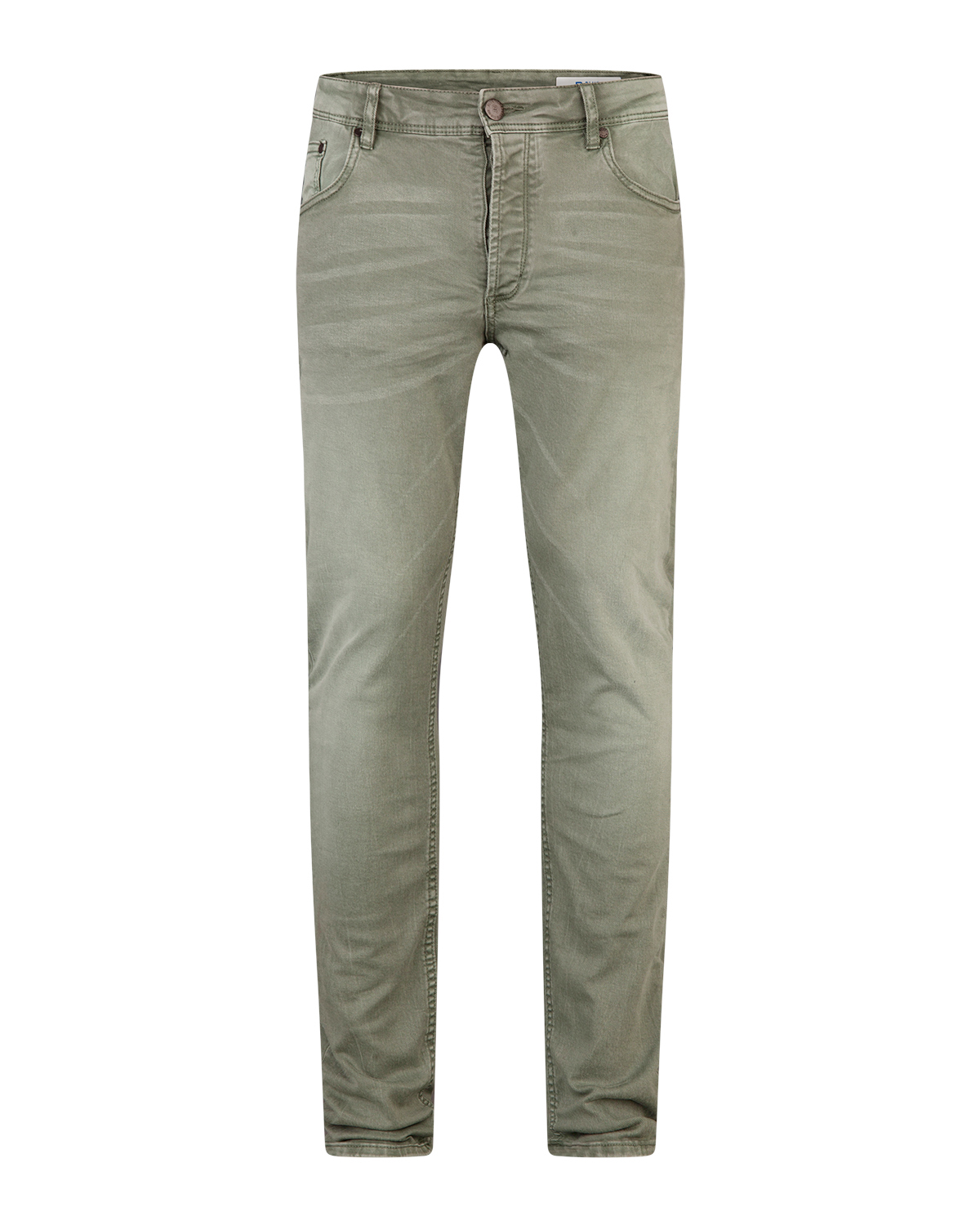 Heren skinny tapered stretch broek