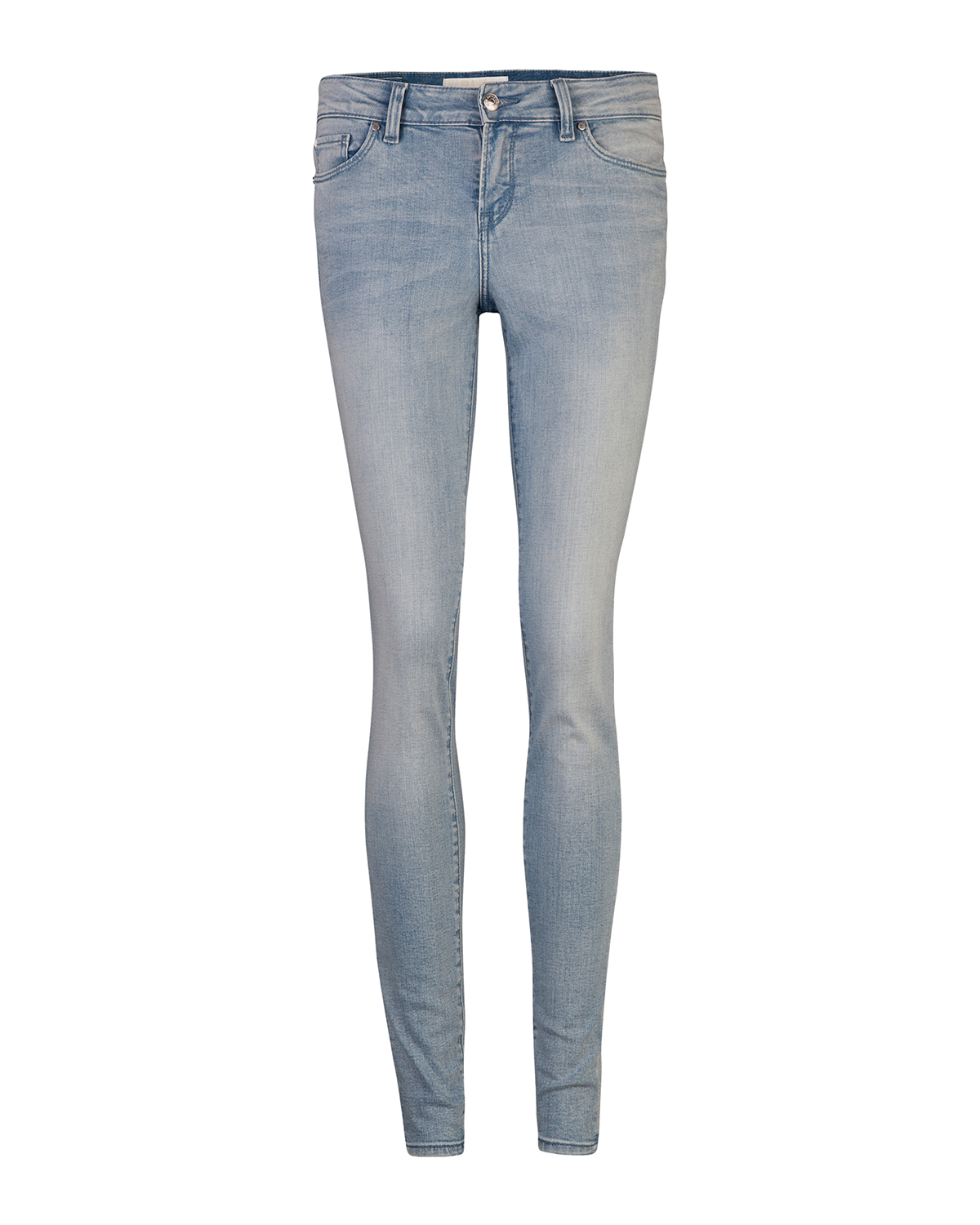 Dames mid rise super skinny jeans