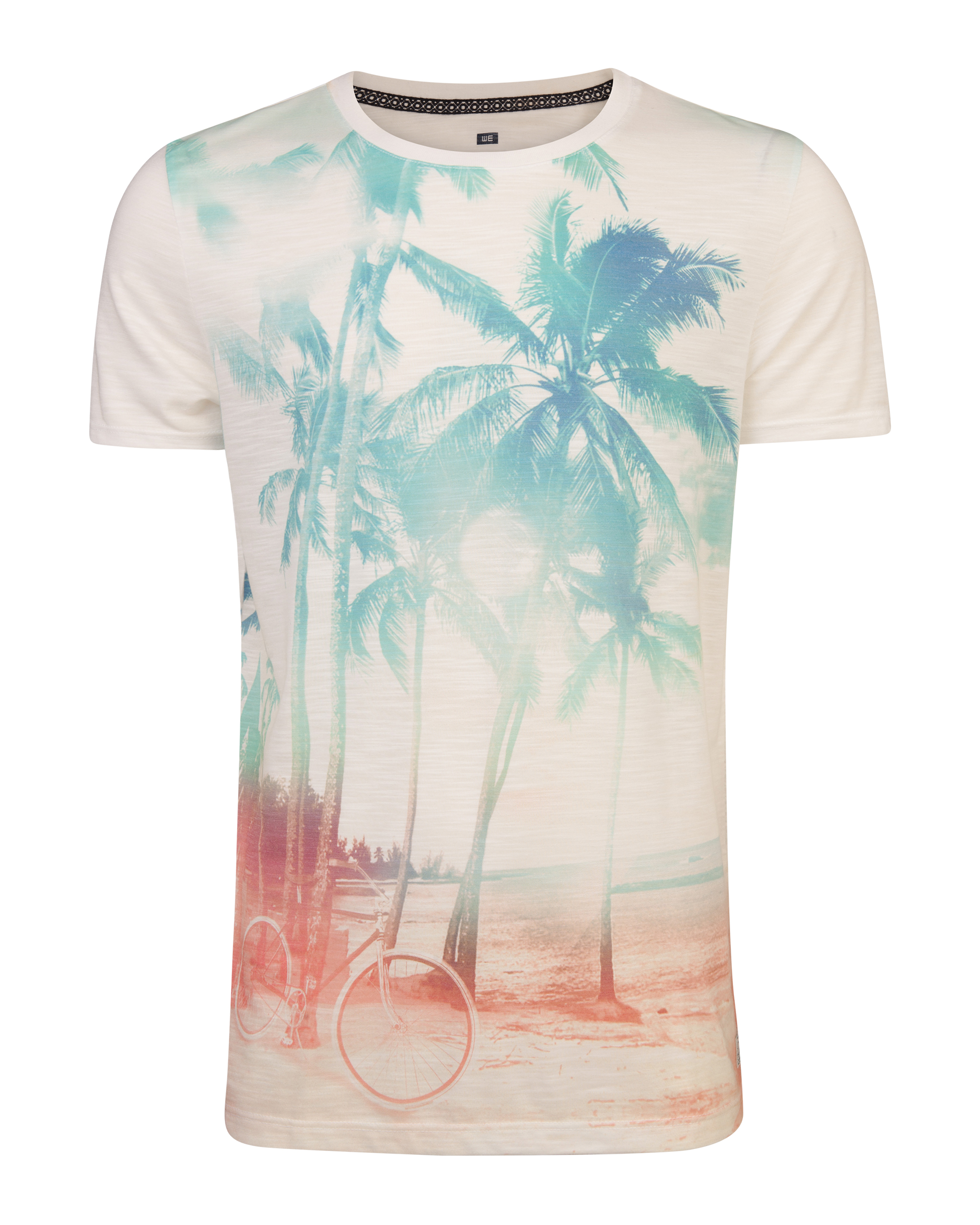 Heren summer print t-shirt