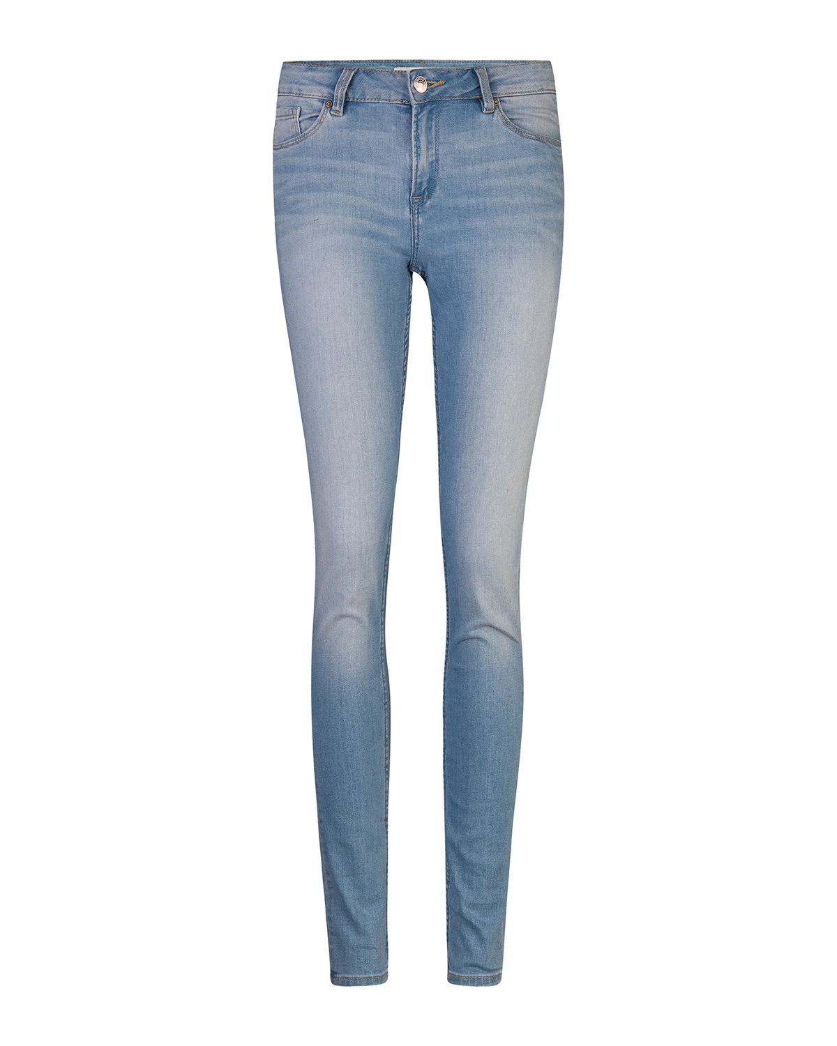 Dames mid rise skinny jeans