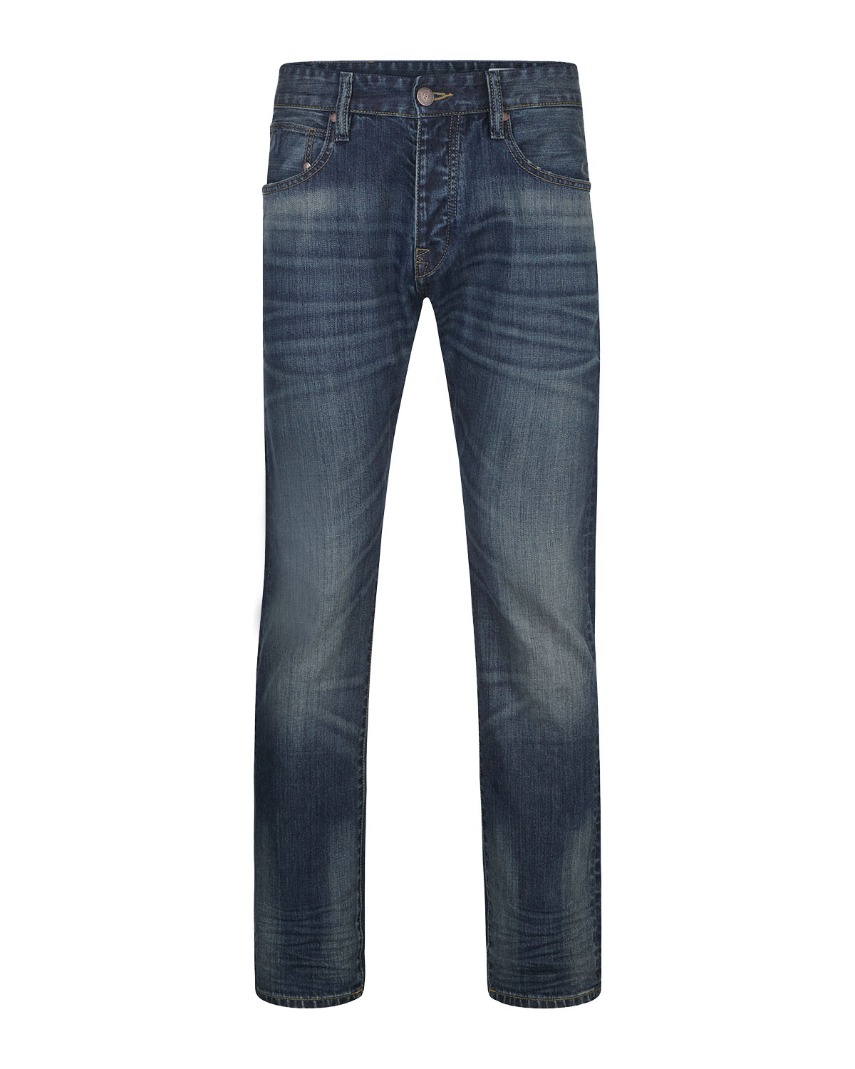 Heren relaxed tapered comfort stertch jeans