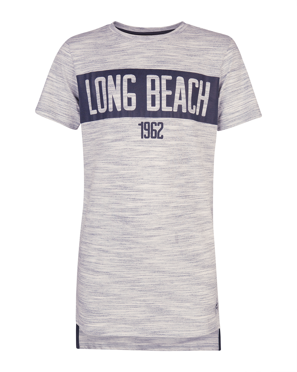 Jongens long beach print t-shirt
