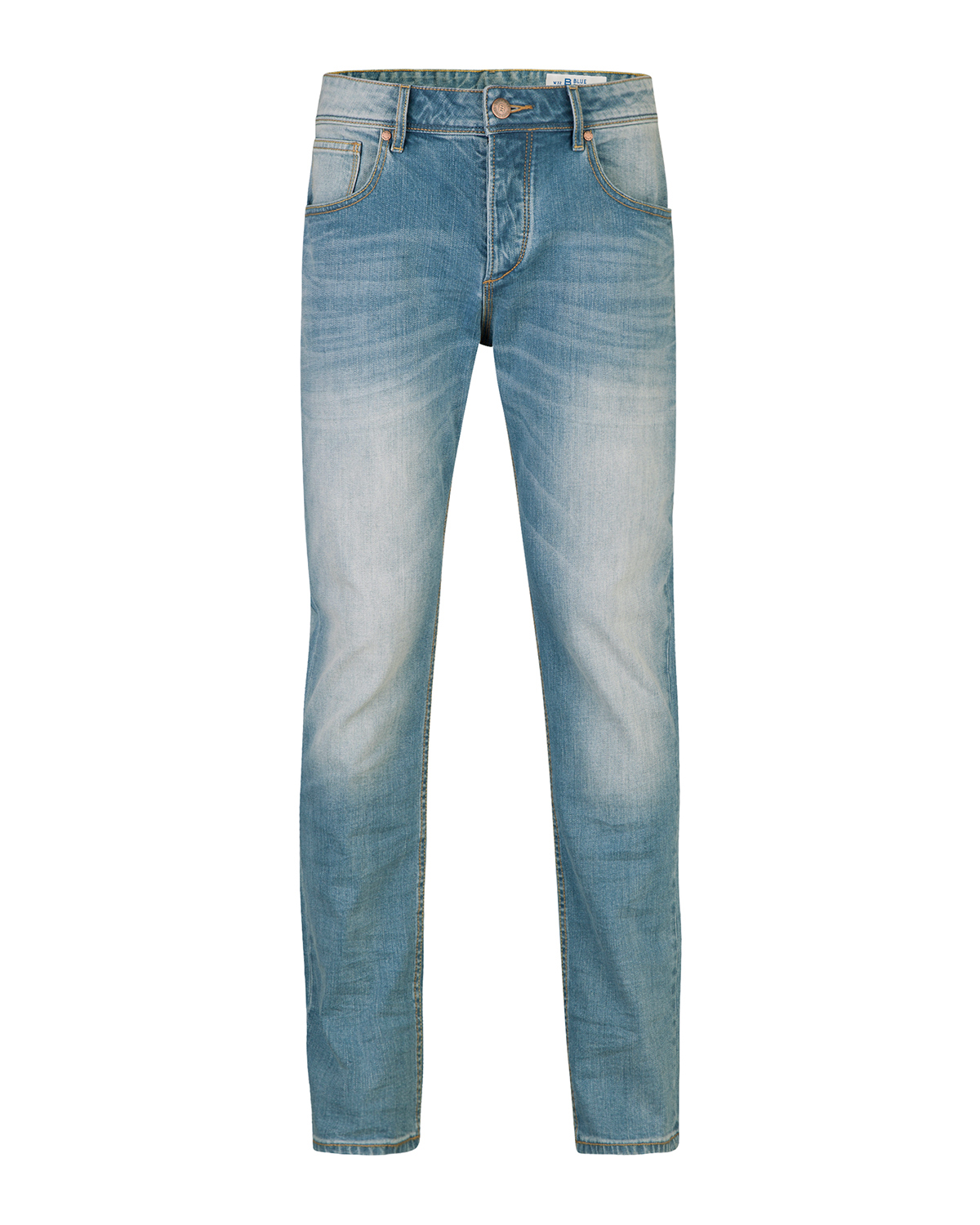 Heren relaxed tapered jeans