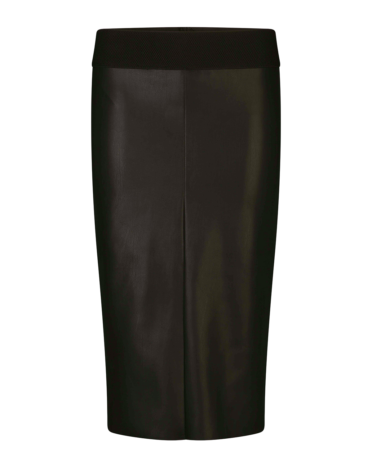 We x nina dames faux leather pencil skirt