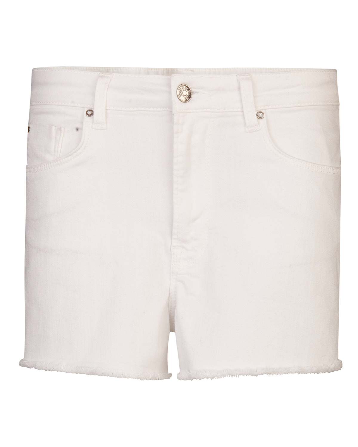 Dames high rise denim short