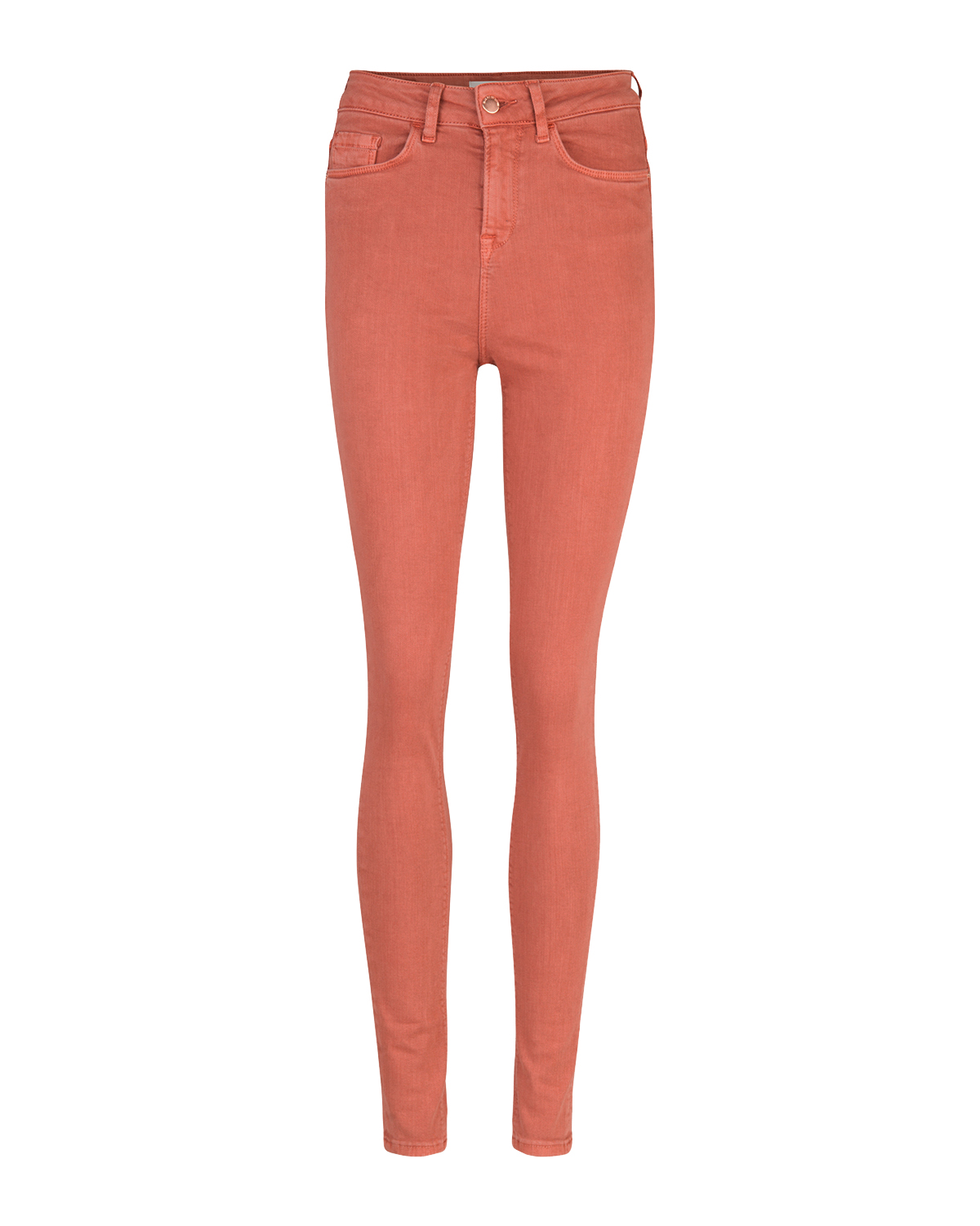 Dames high rise skinny broek