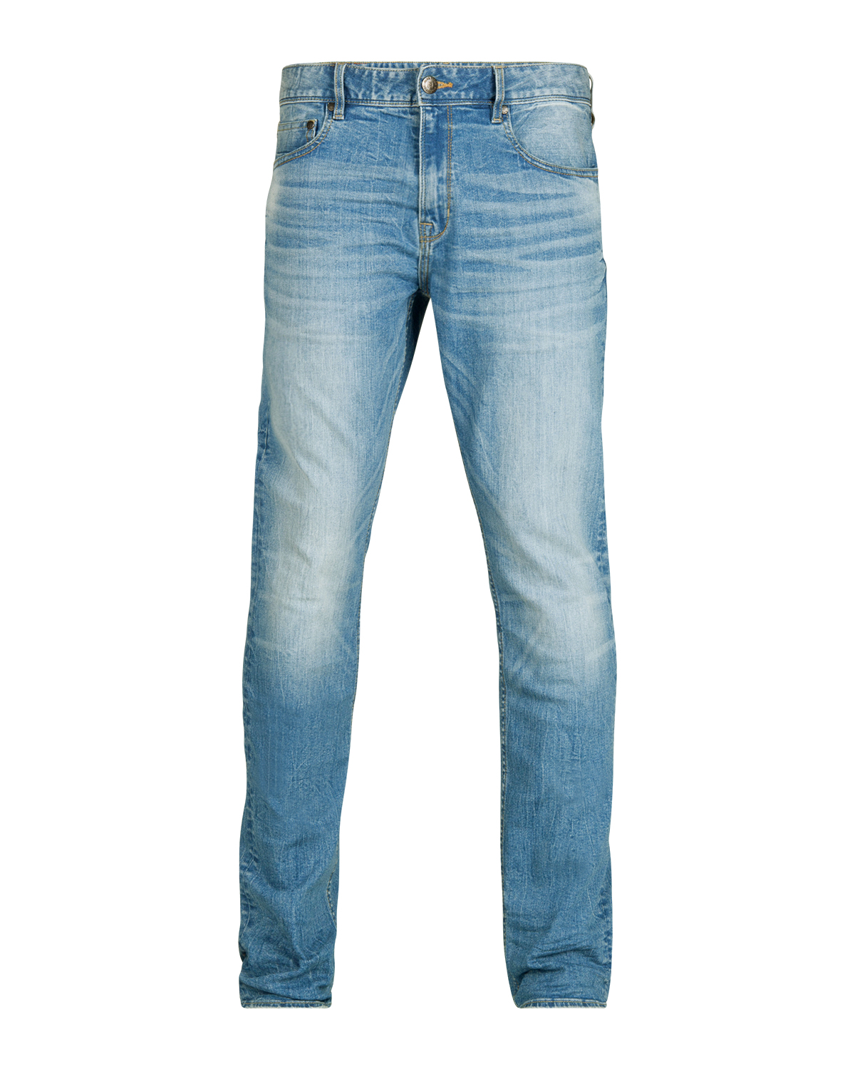 Heren regular straight comfort stretch jeans