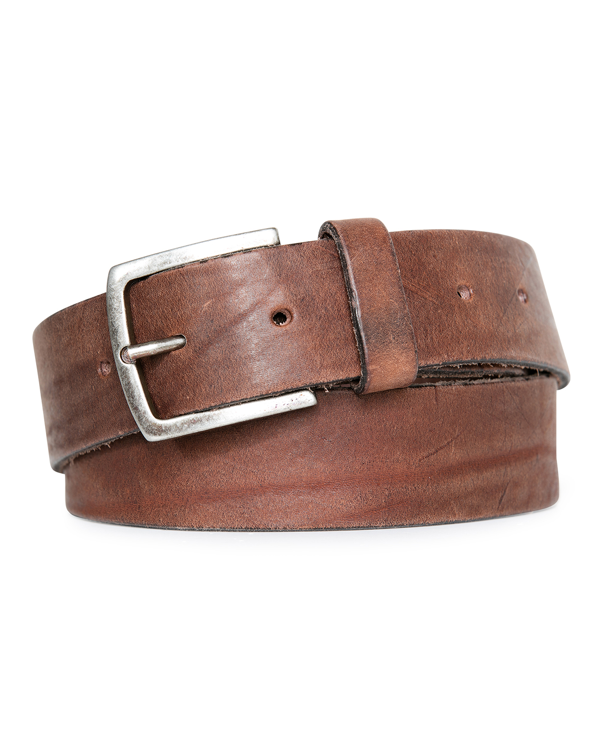 Heren real leather riem