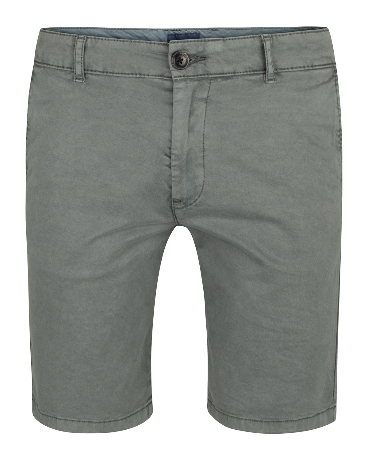 Heren regular fit garment dyed chino short