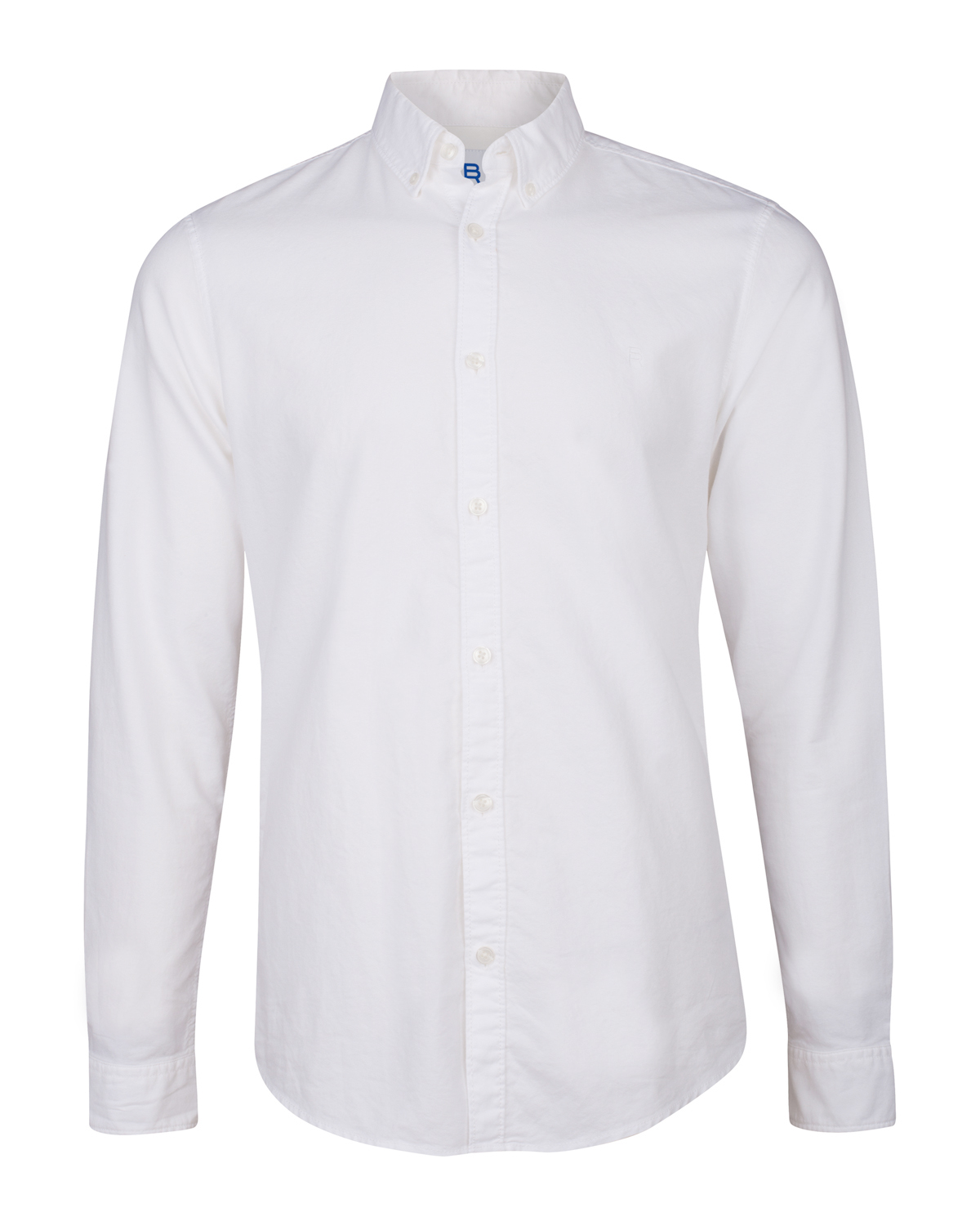Heren slim fit oxford overhemd
