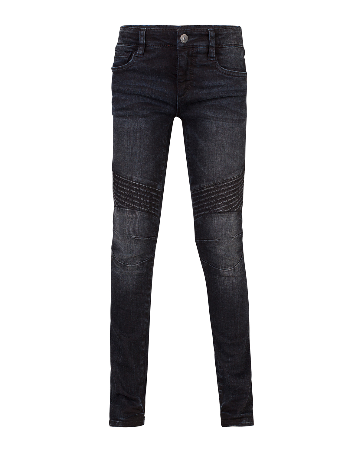 Jongens skinny power stretch biker jeans