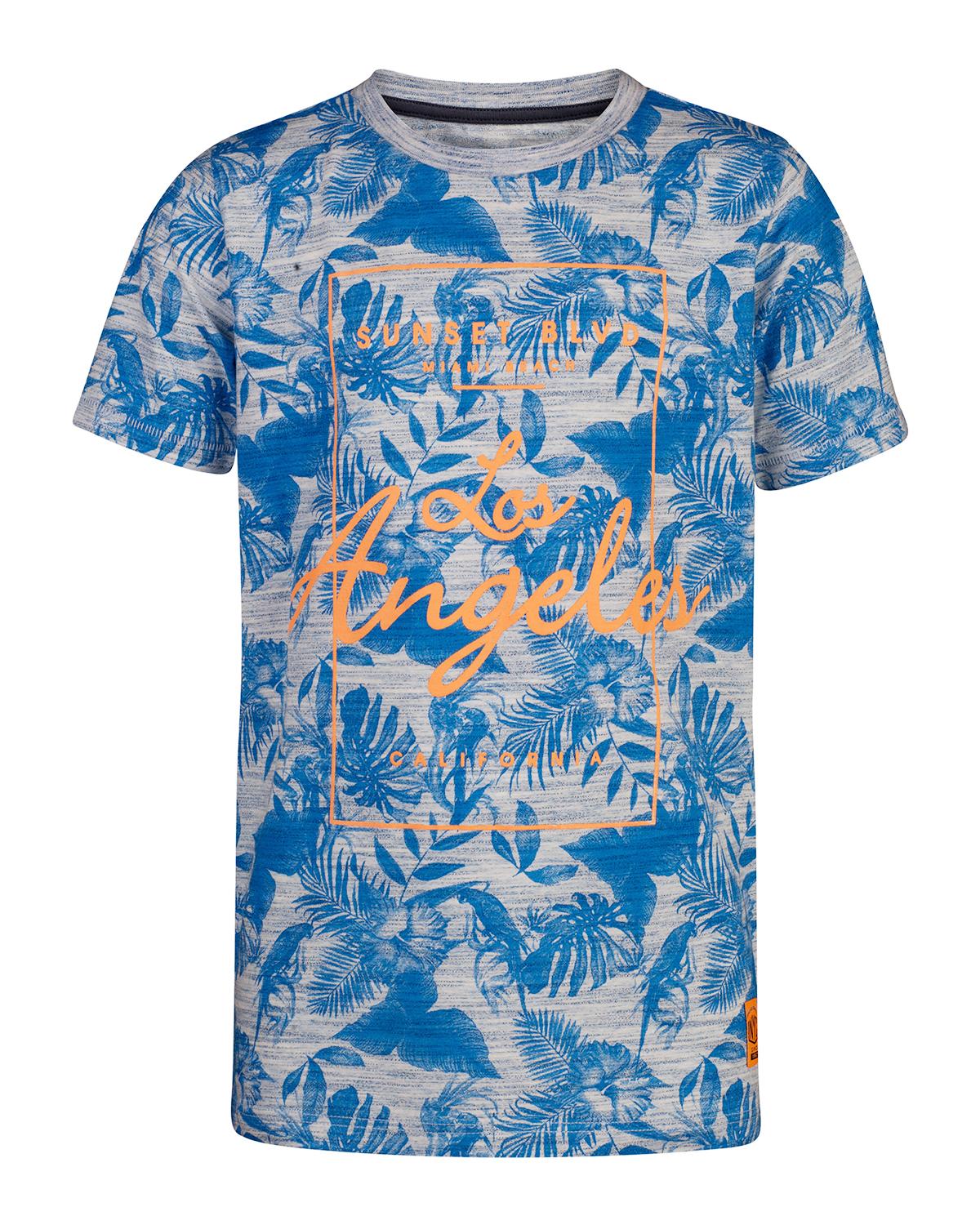 Jongens jungle print t-shirt