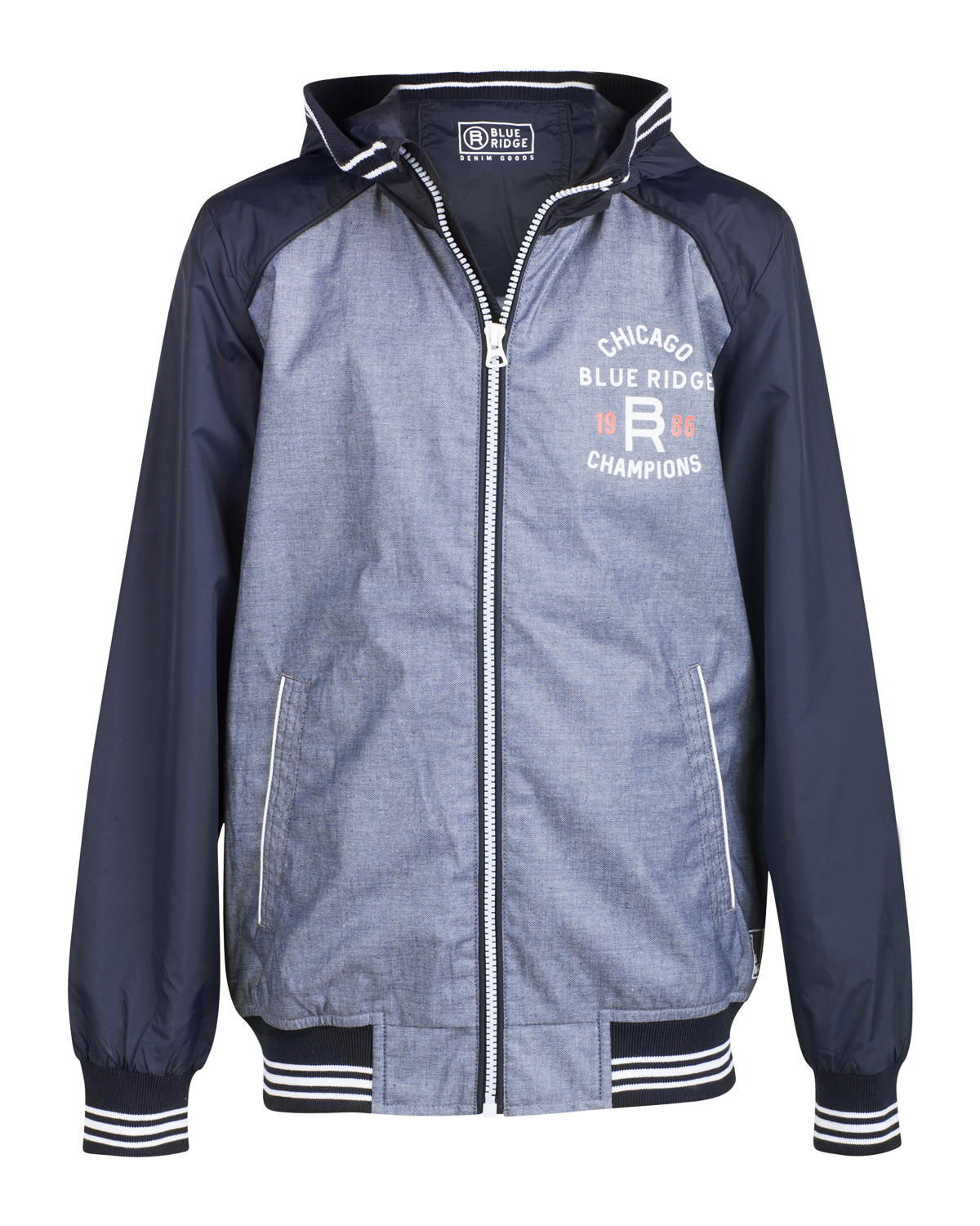Jongens blue ridge hooded jacket