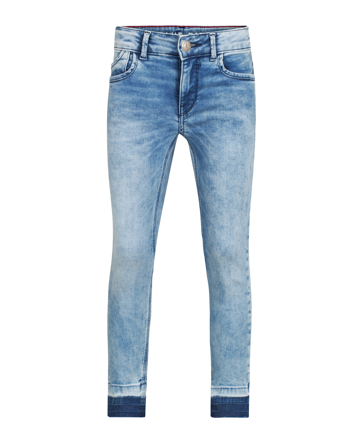 Meisjes super skinny power stretch cropped jeans