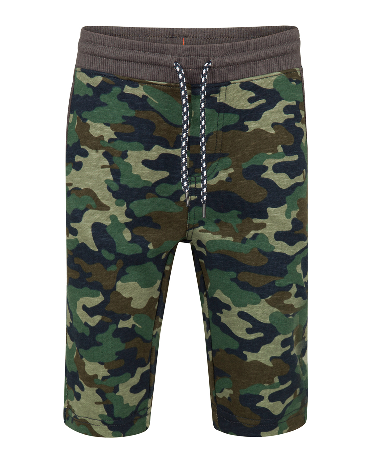 Jongens camouflage sweat short