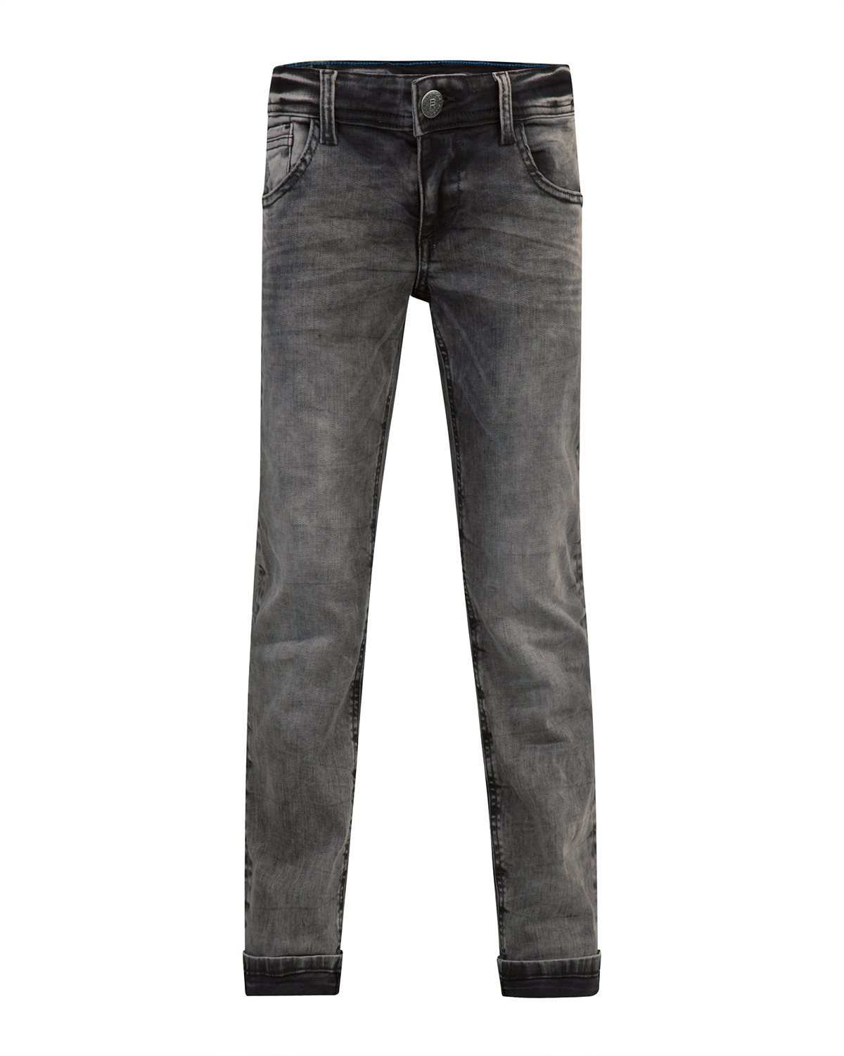 Jongens regular straight power stretch jeans