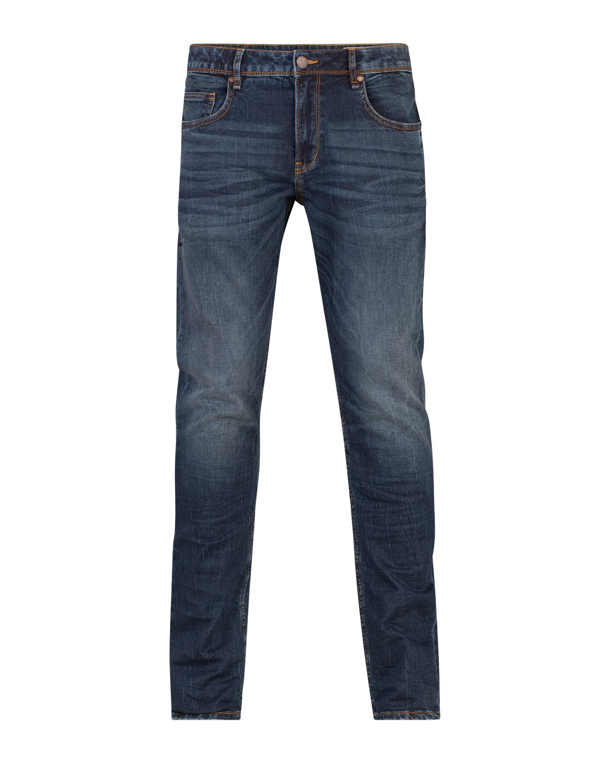 Heren regulair straight jog denim