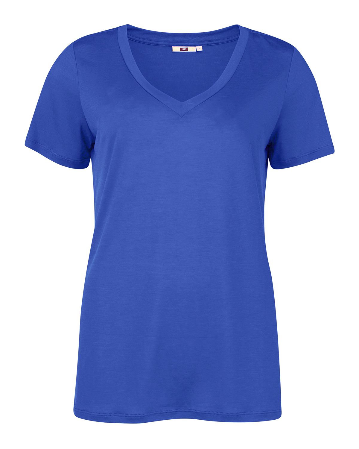 Dames lyocell v-neck t-shirt