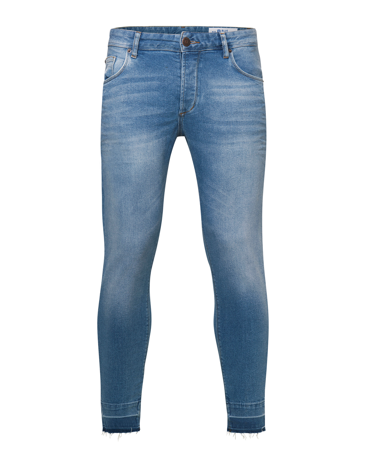 Heren skinny tapered comfort stretch jeans