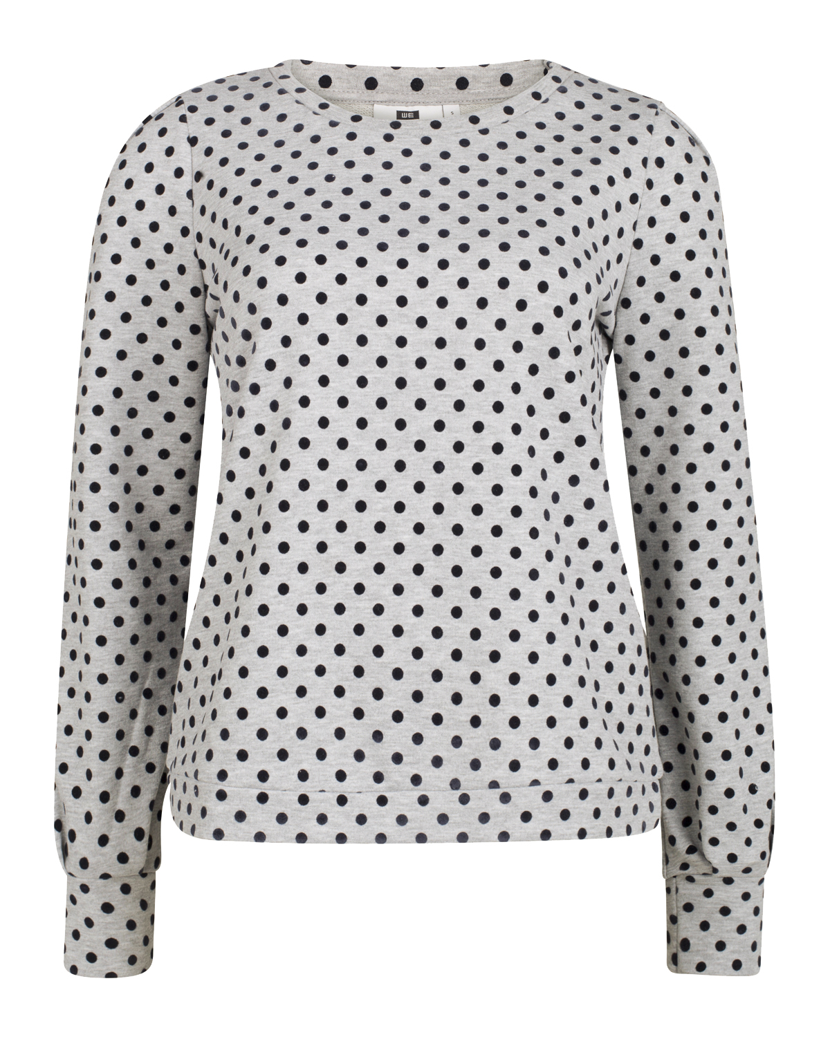 Dames dot print sweater