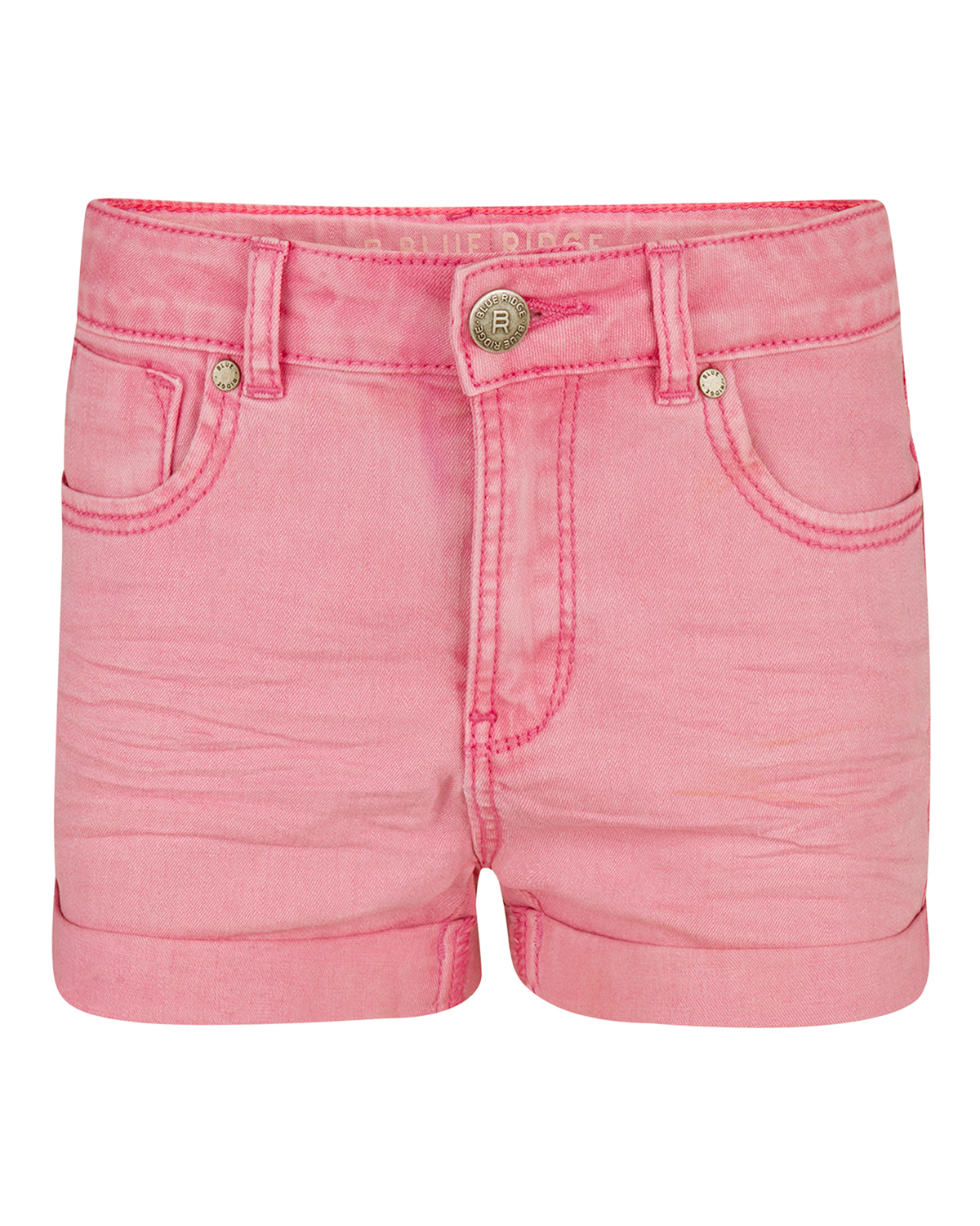 Meisjes regular fit super stretch short