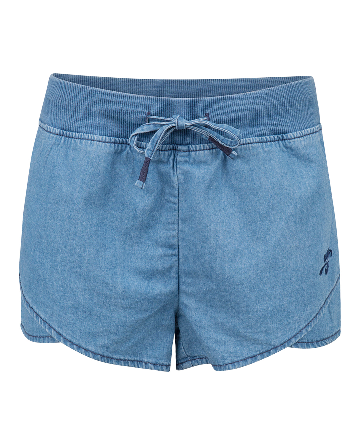 Meisjes regular fit denim short