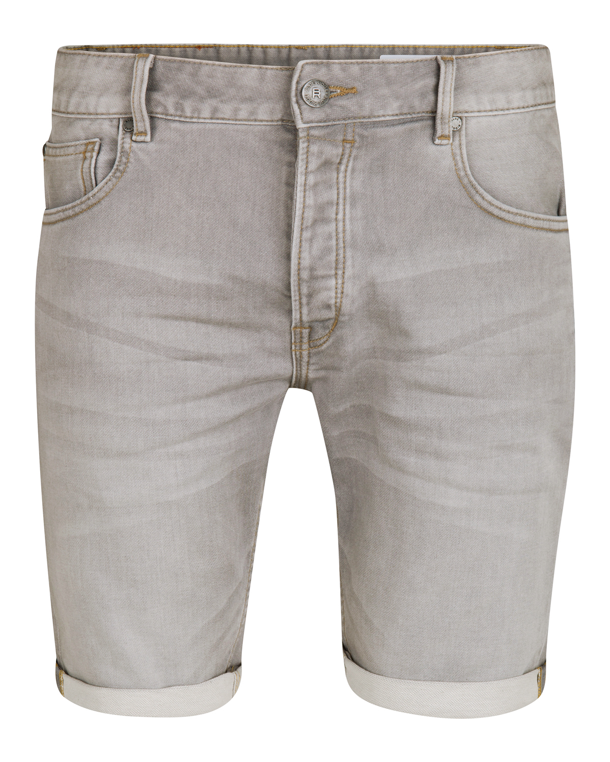 Heren regular fit jog denim short