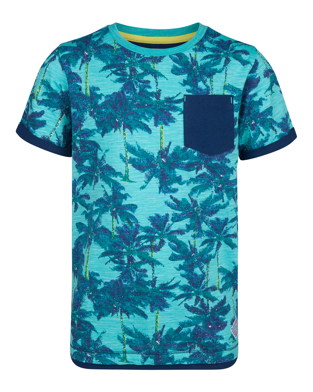 Jongens palm tree t-shirt